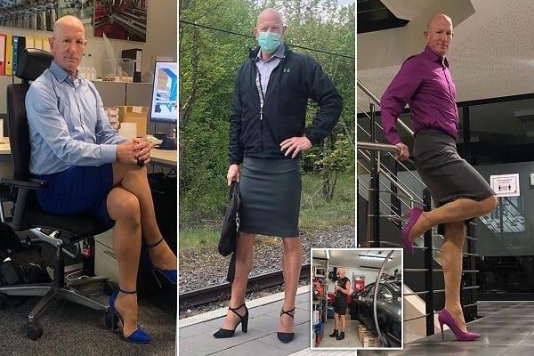 Mark Bryan : l'homme qui s'habille comme une femme depuis plus de 4 ans (vidéo)