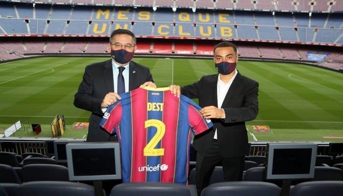 Mercato : les premiers mots de Sergiño Dest, la nouvelle recrue du Barça