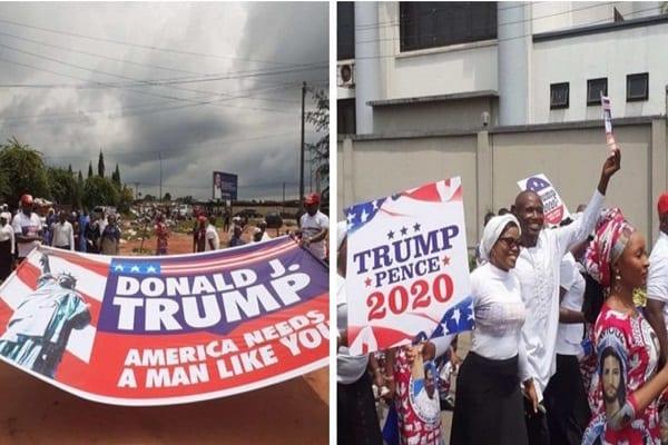 Nigeria : une église organise une marche de prière pour la réélection de Donald Trump, les Nigérians s'indignent