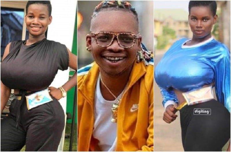 Pamela Odame, la fille aux seins énormes est-elle une prostituée?