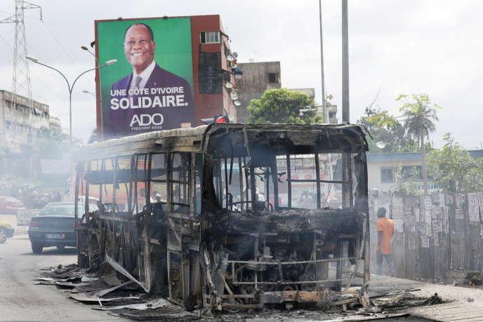 Présidentielle en Côte d'Ivoire : un nouveau mort lors de manifestations
