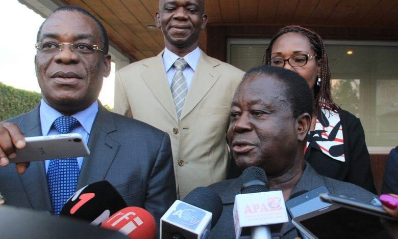 """Présidentielle ivoirienne : Bédié et Affi ordonnent le blocage du processus électoral """"par tous les moyens légaux"""""""