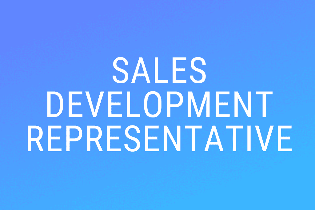 Recrutement De Sales Representatives (H/F)