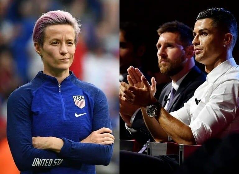 Megan Rapinoe : «Ronaldo et Messi pourraient faire plus pour lutter contre le racisme»