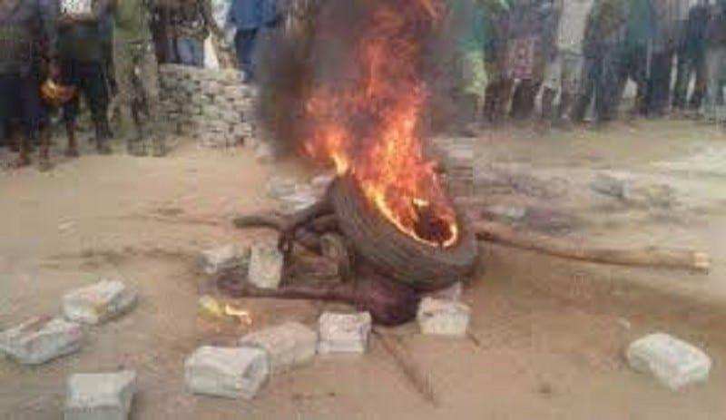 Togo: un voleur de mouton brûlé vif près de l'animal