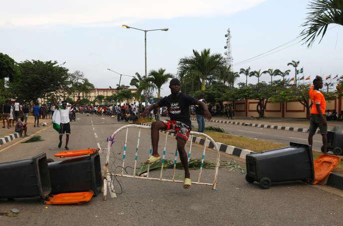 Violences policières au Nigeria : à Lagos, les manifestants dispersés par des tirs