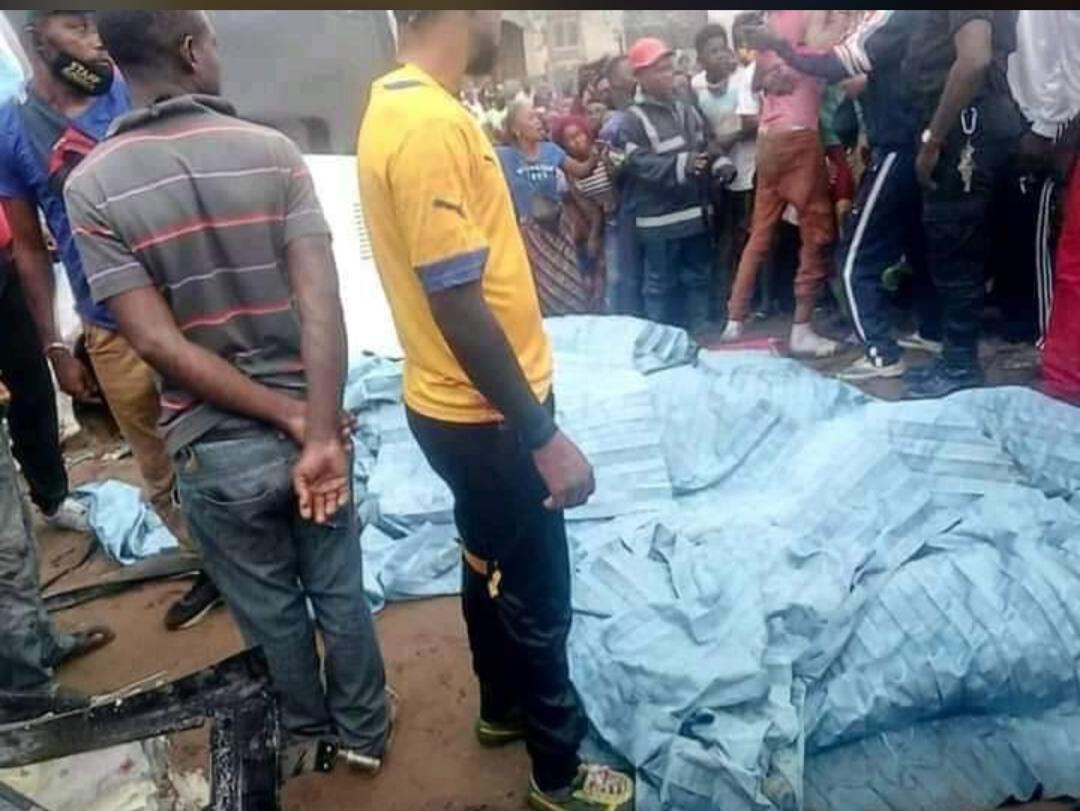 Congo: Un grave accident fait plusieurs morts et blessés (photos)