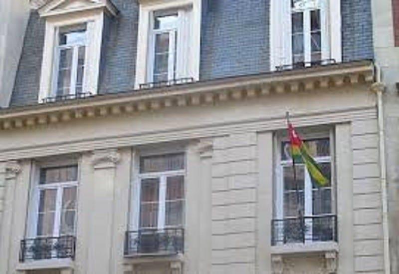 L'ambassade du Togo en France fermée jusqu'à nouvel ordre