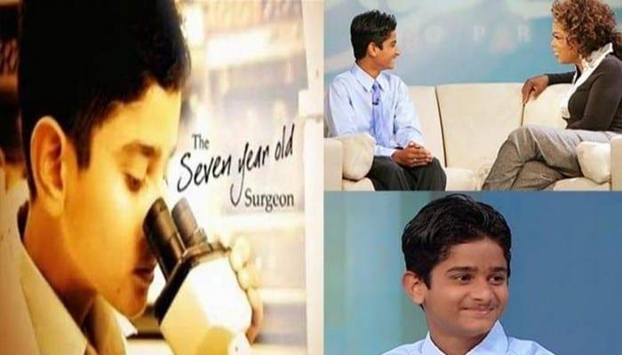Découvrez l'histoire incroyable d'Akrit Jaswal, qui est devenu le plus jeune chirurgien du monde à 7 ans