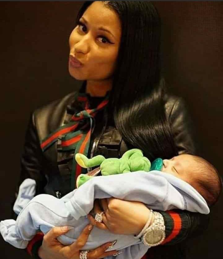 Découvrez la première photo de Nicki Minaj avec son enfant