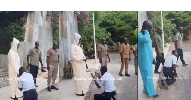 Sénégal : Le policier qui s'est prosterné devant le guide religieux Kara, est incarcéré