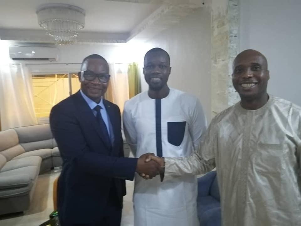 Sénégal : Moussa Diop et Barthélémy Dias reconciliés par Ousmane Sonko