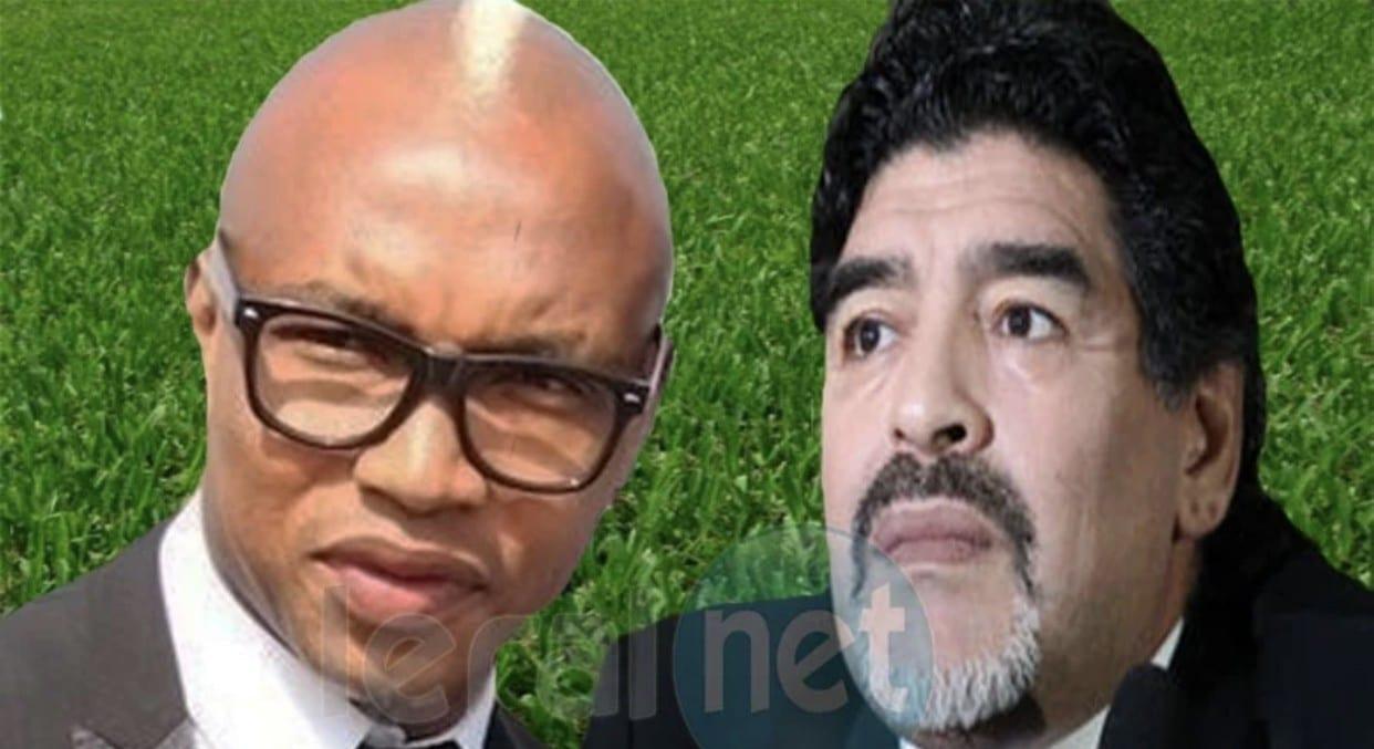La réaction de El Hadji Diouf à la disparition de Diego Maradona