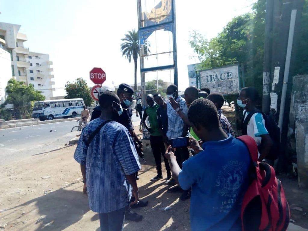 Sénégal – Ucad : Un étudiant a été blessé par balle par les forces de l'ordre