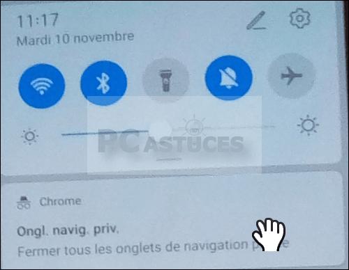 Utiliser la navigation privée dans Google Chrome – Android