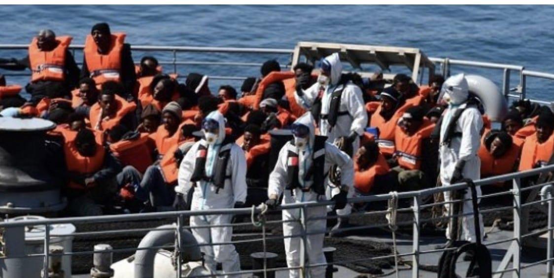 Émigration clandestine : Plus de 400 Sénégalais dont trois bébés sont arrivés ce lundi matin aux Îles Canaris