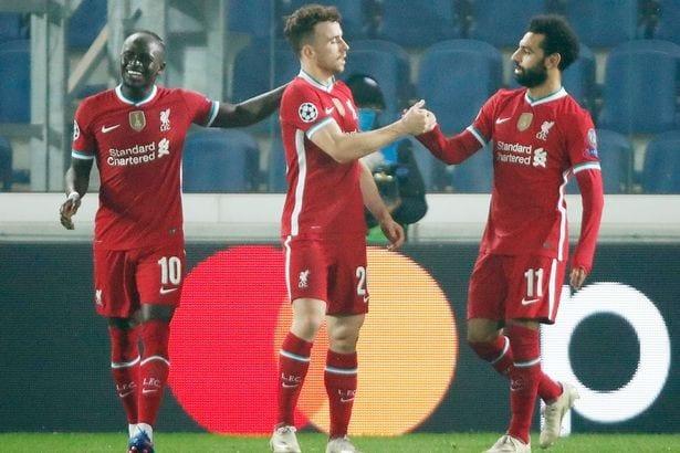 Liverpool : Jota explique pourquoi c'est facile d'évoluer aux côtés de Mané et Salah