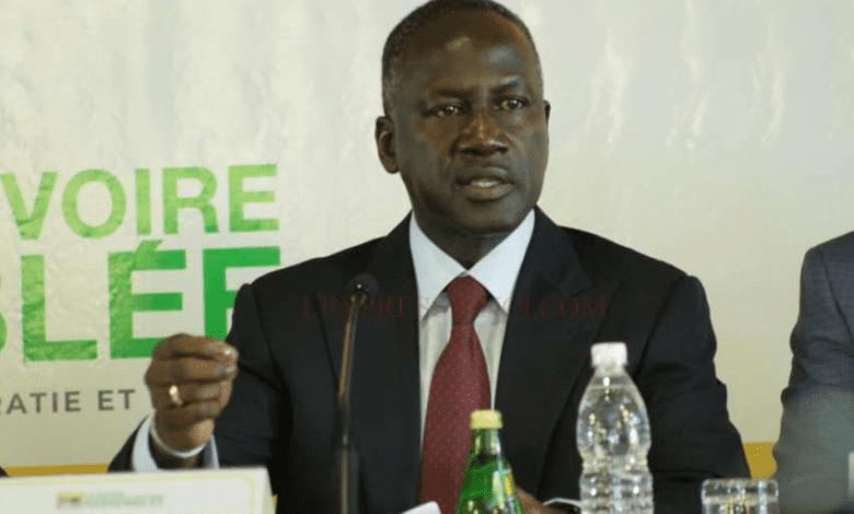 """Adama Bictogo:"""" Le sieur Soro saura qu'il y a un terminus pour tout ce qui s'apparente à la délinquance politique"""""""