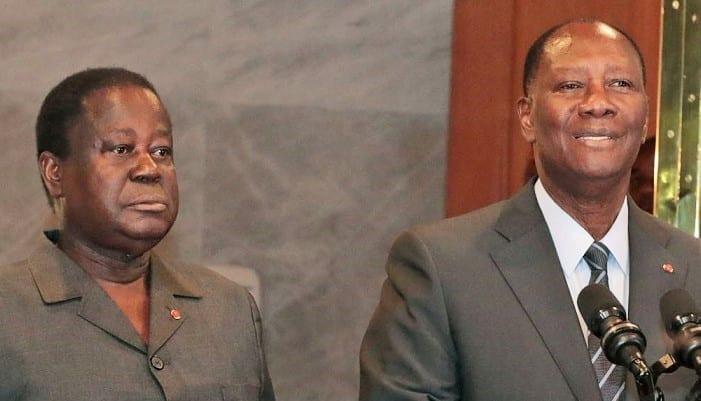 """Affi, Guikahué, cadres emprisonnés / Bédié annonce leur libération """"dans quelques jours"""" avant tout dialogue avec Ouattara"""