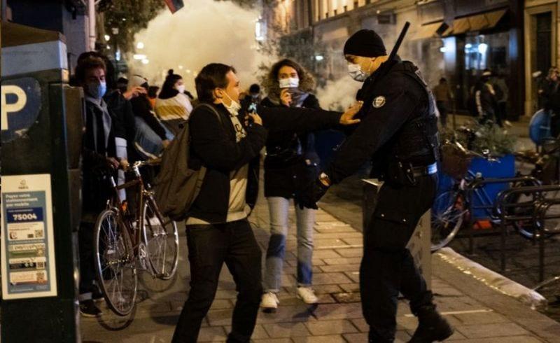 Affrontement « choquant » dans un camp de migrants avec La police parisienne