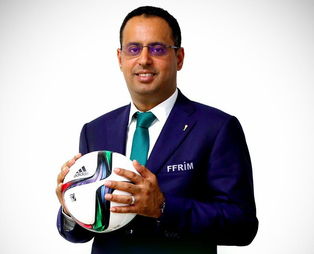 Ahmed Yahya, candidat à la présidence de la CAF 2021