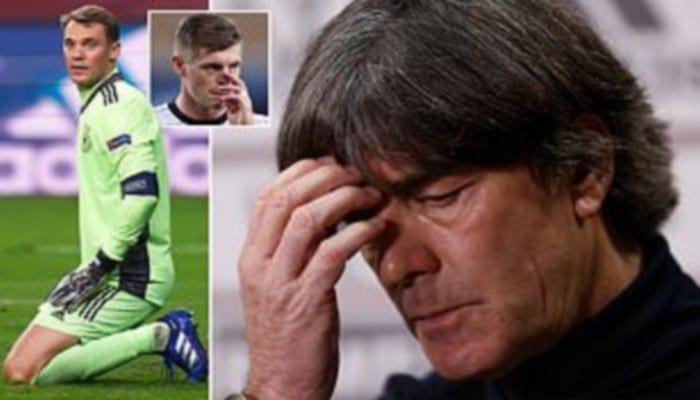 Allemagne : humilié par l'Espagne, Joachim Löw perd tout espoir !