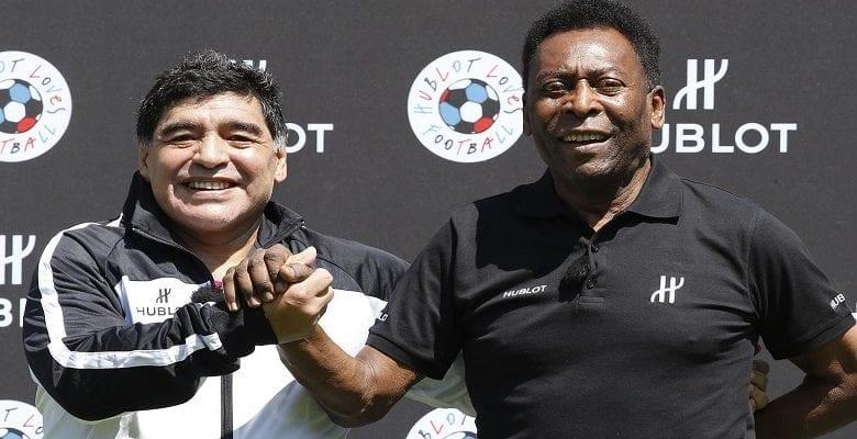 Anniversaire de Maradona : Pélé lui adresse un message émouvant