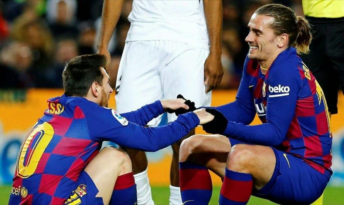 Antoine Griezmann s'est exprimé sur sa relation avec Lionel Messi