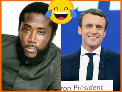 Un artiste guinéen attaque violemment Emmanuel Macron