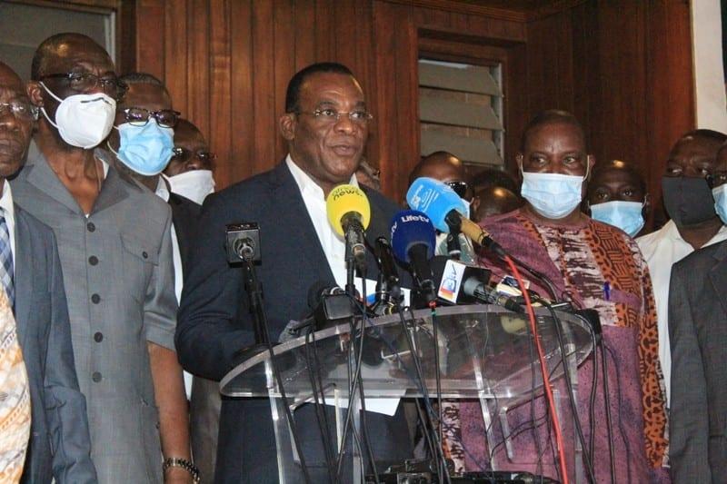 Attentat contre l'Etat : Guikahué interpellé. Affi et Mabri « activement recherchés », selon Richard Adou
