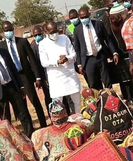 Bénin : des revenants s'inclinent devant Patrice Talon (photo)