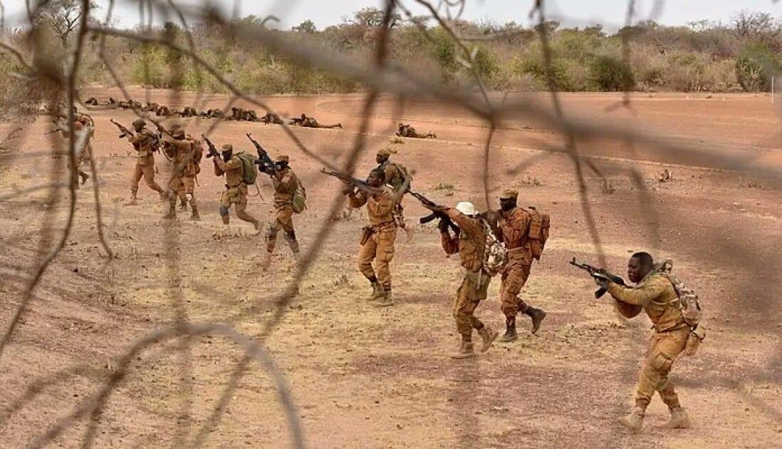 Burkina Faso : 12 terroristes abattus