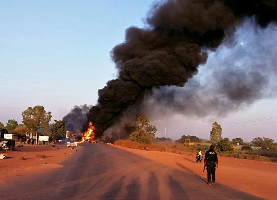 Burkina : plusieurs morts dans l'explosion d'un car