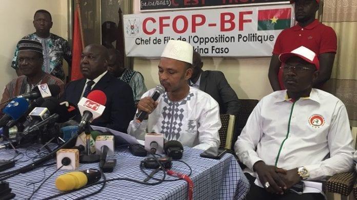 Burkina/ L'opposition ne reconnait pas les résultats provisoires