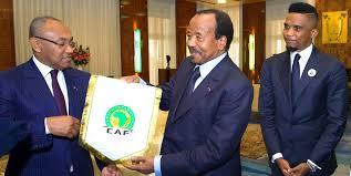 CAF: Paul Biya refuse à Samuel Eto'o d'être candidat
