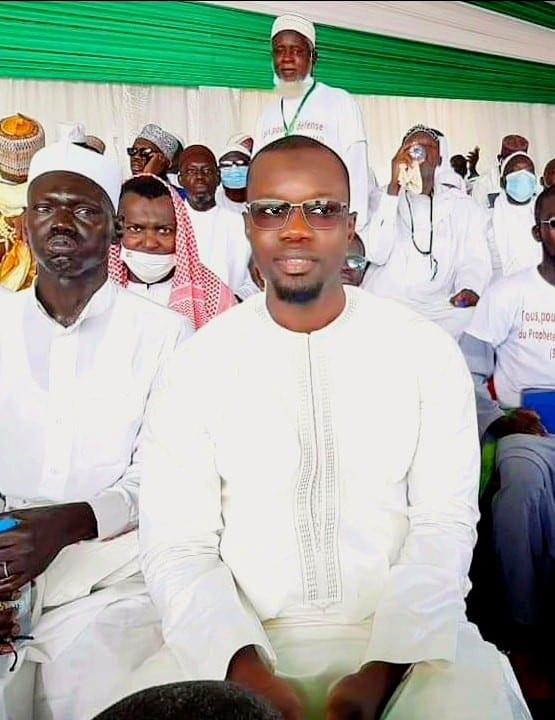 L'opposant Ousmane Sonko présent au rassemblement des Sénégalais contre l'Islamophobie