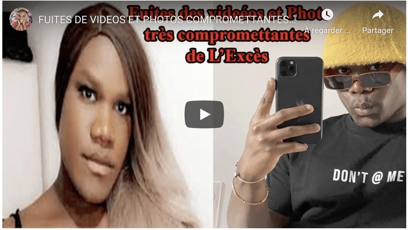 FUITES DE VIDEOS ET PHOTOS COMPROMETTANTES DU COMEDIEN IVOIRIEN L'EXCES