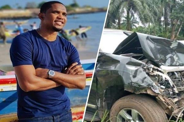Cameroun : Samuel Eto'o victime d'un accident de voiture