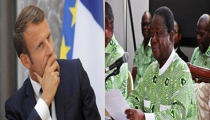 """Candidature de Ouattara """"par devoir""""/ Le PDCI dit ses 4 vérités à Emmanuel Macron"""