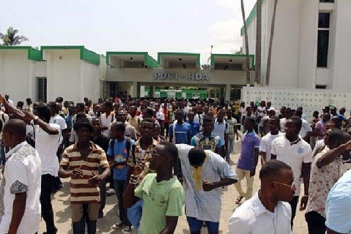 Côte d'Ivoire / Crise politique : des jeunes militants PDCI du Ghana invitent la jeunesse du PDCI à prendre ses responsabilités