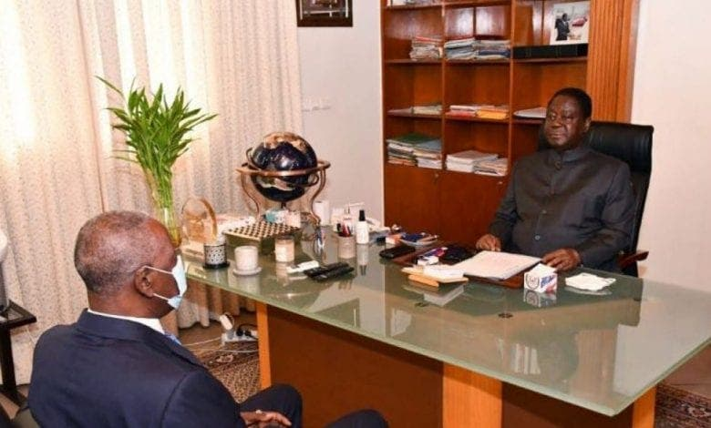 Côte d'Ivoire/ Bédié et Adama Tounkara, Grand Médiateur de la République, se parlent
