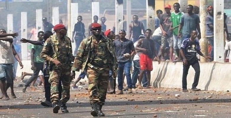Coup de tonnerre: Inquiétude en Guinée / Les gendarmes désormais autorisés à tirer à vue