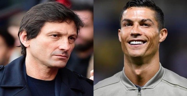 Cristiano Ronaldo annoncé au PSG, Leonardo le directeur sportif répond à la rumeur