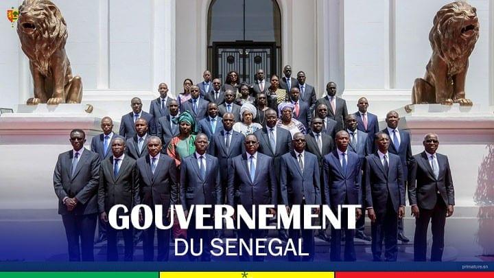 REMANIEMENT : 7 nouveaux ministres s'ajoutent à la liste du gouvernement sénégalais.