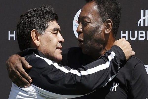 Décès de Diego Maradona : l'hommage touchant de Pelé