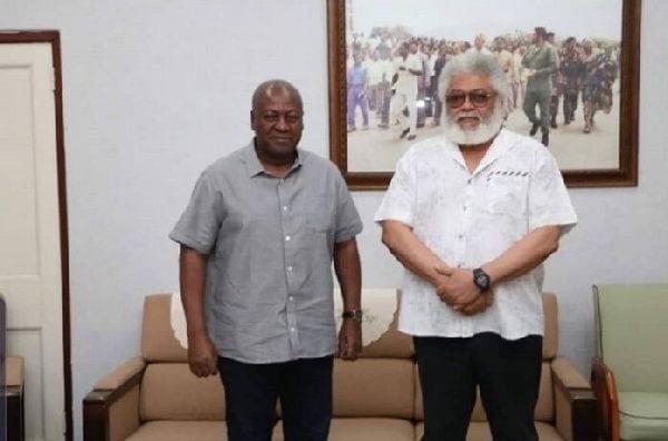 Décès de J.J Rawlings : l'ancien président Dramani Mahama empêché de signer le livre de condoléances