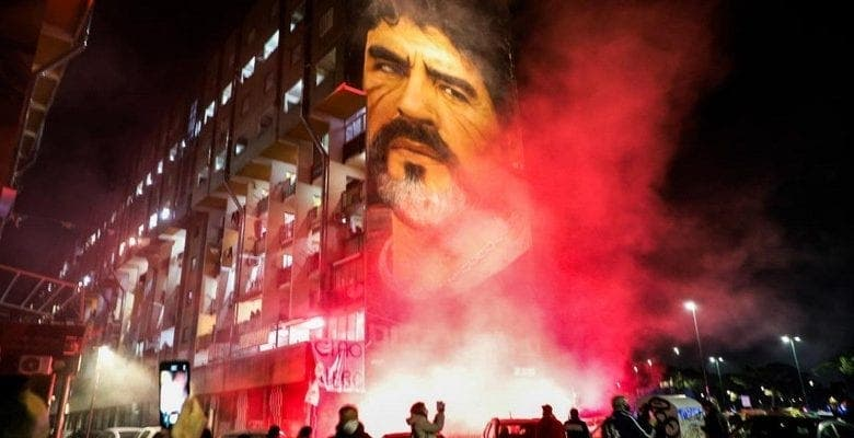 Décès de Maradona : Voici comment Naples a décidé d'honorer sa légende !