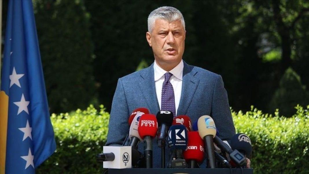 Démission de Hashim Thaçi, président kosovar ce 5 novembre 2020