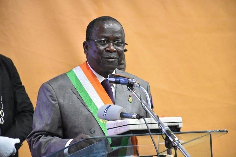 Depuis l'Allemagne, Ahoussou se signale après la réélection de Ouattara : son message aux cadres du Grand Centre