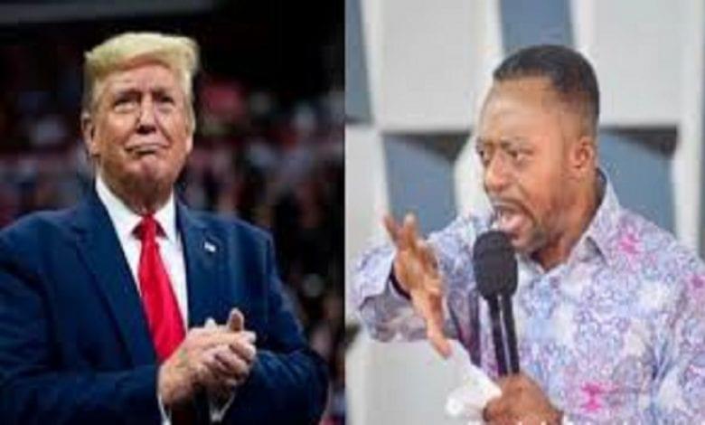 """""""Dieu a décidé, Donald Trump remportera les élections"""", dixit un pasteur ghanéen – vidéo"""